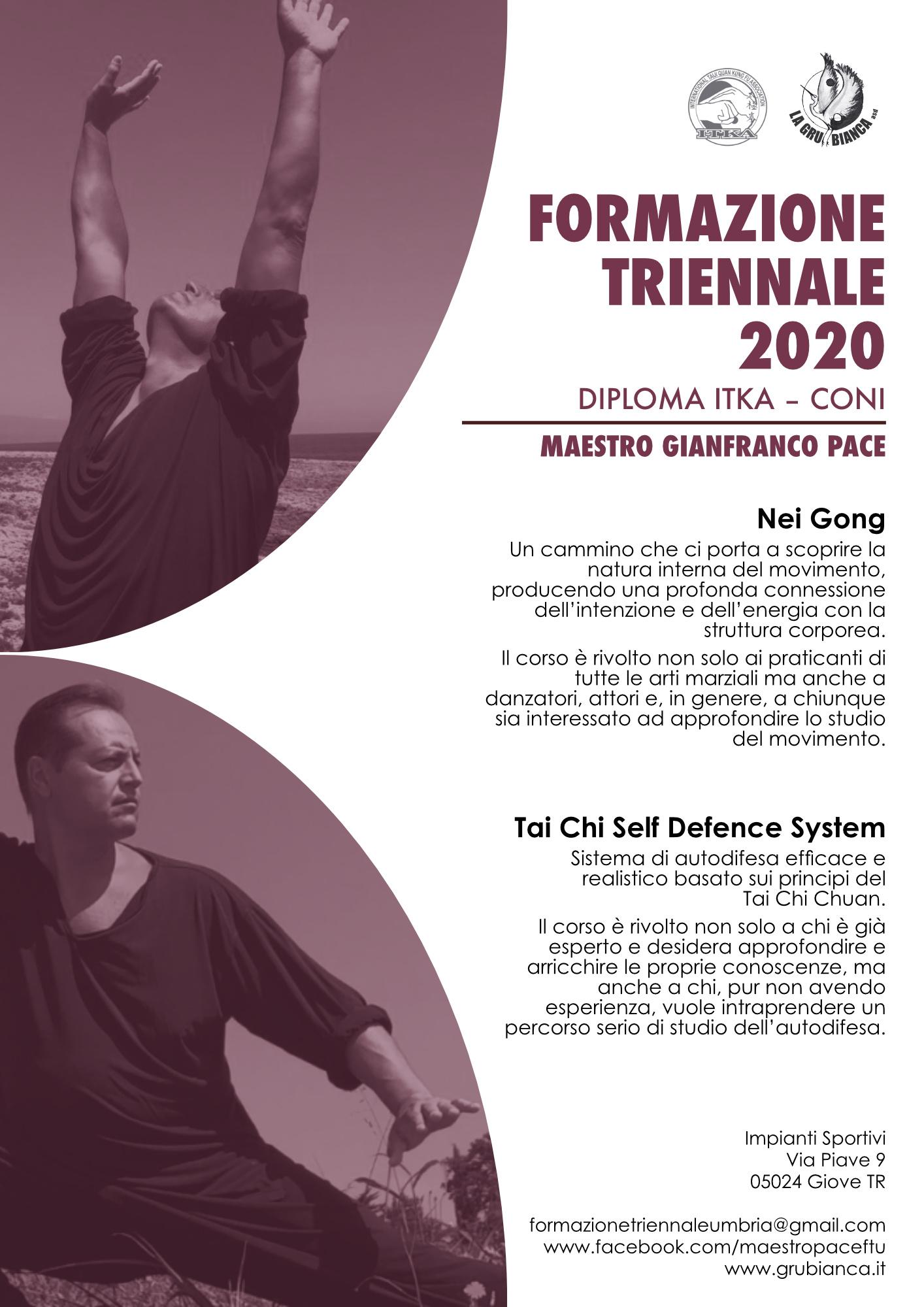 Maestro Gianfranco Pace - Corso di Formazione Triennale in Umbria