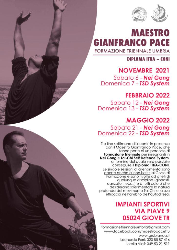 Formazione Triennale Umbria Maestro Gianfranco Pace